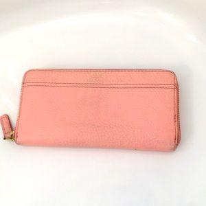 Fossil Zip Around wallet